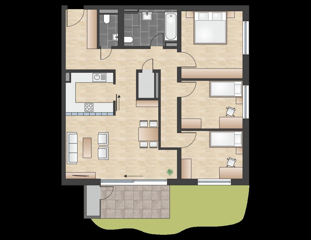 W 2.0.3 mit 104,02 m² | Preis 426.500 EUR