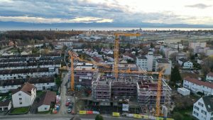 Baustellenbild Friedrichshafen