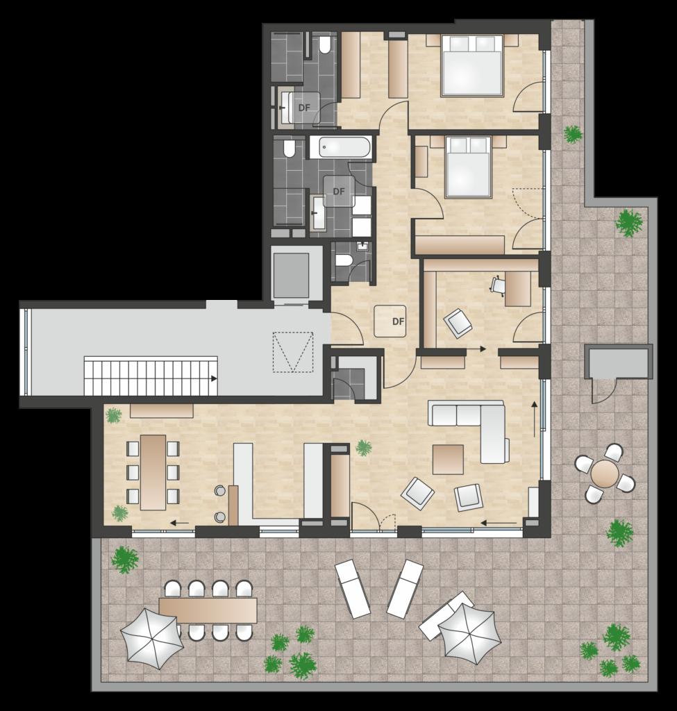 W 4.3.5 mit 187,07 m² | +++ RESERVIERT +++